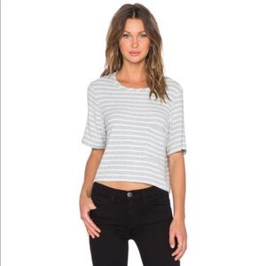 Tops - NWT Hye Park and Lune- Plush Crop Top
